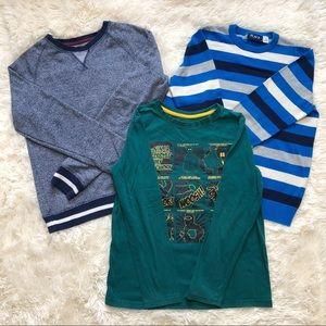 Boys Size Large Shirt Sweater Sweatshirt Bundle